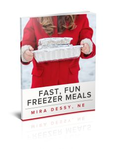 Because you have more important things to do in life than to live in the kitchen. Fast Fun Freezer Meals takes the crazy out of dinnertime!