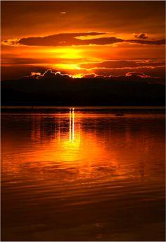 Gorgeous sunset #erinfetherston