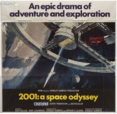 View the current IVPDA feature - Man and Machine - at http://www.ivpda.com/ This #VintagePoster is available from #IVPDA member https://www.movieart.com/2001-a-space-odyssey-1968-20120/