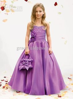 pageant dresses for girls 7-16 - Purple Dress For Kidswholesale ...
