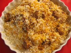 Indian culinary is always associated with the name Biryani and there is almost no festivity in India without the delicious aroma of any kind of biryani encompassing the whole ambience.