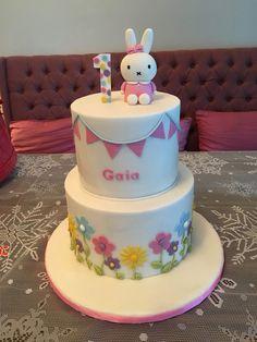 My daughter's Miffy birthday cake