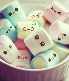 emoticon marshmallows