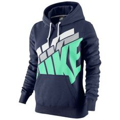 Nike Club Stacked Pullover Hoodie - Women's - Casual - Clothing - White