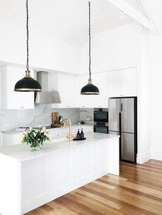 Kitchen Room Design, Modern Kitchen Design, Home Decor Kitchen, Interior Design Kitchen, Home Kitchens, Diy Kitchen, Kitchen Ideas, Küchen Design, House Design