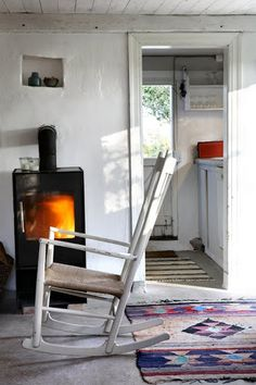 Rock away in the J16 Rocking Chair from Fredericia http://www.nest.co.uk/browse/brand/fredericia/fredericia-j16-rocking-chair