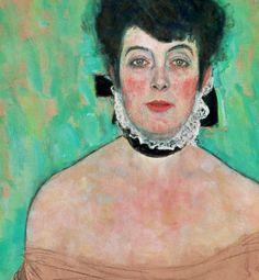 Gustav Klimt - Amalie Zuckerkandl (detail), 1917/18