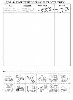 Science Worksheets, Science Activities For Kids, Tracing Worksheets, Montessori Activities, Worksheets For Kids, Therapy Activities, Preschool Activities, Transportation Theme, Preschool Writing