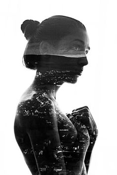 Bulgaria-based photographer Aneta Ivanova shows in a small tutorial how she makes incredible double exposure portraits in photoshop. Portraits En Double Exposition, Exposition Photo, Photo Portrait, Photo Art, Portrait Photography, Photoshop Photography, Creative Photography, Double Exposure Photography, Multiple Exposure