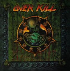 Overkill is a group of Heavy Metal, Speed Metal and Thrash Metal formed in New Jersey In Ove Heavy Metal Bands, Arte Heavy Metal, Nu Metal, Thrash Metal, Groove Metal, Thrasher, Overkill Band, Hard Rock, Rock Y Metal