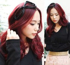 I want to dye my hair this colour again someday. Maybe when I start going gray.