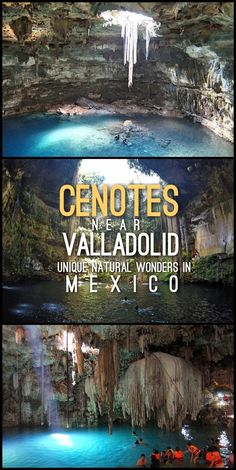 Planning a trip to Mexico? Make sure to visit the cenotes near Valladolid before or after checking out Chichen Itza.