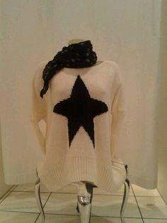 tolle #Strickpulli's mit Stern, weitere Form 34,90€