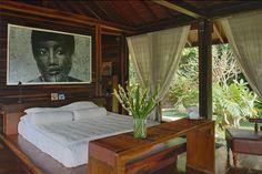 Tropical jungle sanctuary in Bali