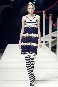 Kenzo Spring 2006 Ready-to-Wear Fashion Show - Tatiana Lyadochkina