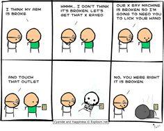 Funny Comic Strips   Found on: http://www.explosm.net/db/files/Comics/Kris/xray.gif