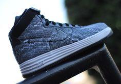 Nike Lunar Force 1 High   Black   White