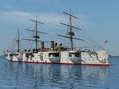 Old Ships | Military in your blood - USS Newark C-1 Protected Cruiser - Community ...