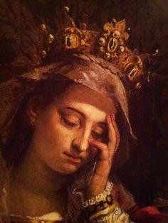 """Паоло Веронезе. """"Видение святой Елены"""" (фрагмент). Выставка Roma Aeterna, Третьяковская галерея"""