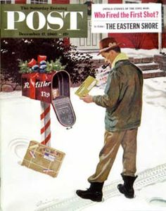Saturday Evening Post - 1960-12-17: Merry Christmas from the IRS (Ben Kimberly Prins)