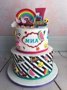 Soy Luna birthday cake
