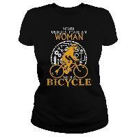 Woman with a bicycle - Tshirt Silk Screen T Shirts, Cycling T Shirts, Sweater Storage, Frog T Shirts, Create Shirts, Mens Sweatshirts, Hoodies, Cool Shirts, Tee Shirts