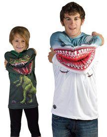 Animated shark and raptor hoodies Animated Shark, Baby Shower Niño, Shark Shirt, Kid Styles, Boy Fashion, Fashion Shirts, Fashion Clothes, T Rex, Textiles