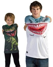 adult and youth raptor and shark hoodies.. not for me but g would love this!