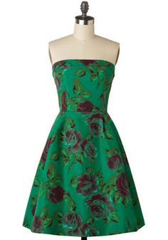 Betsey Johnson Green With Envy Dress