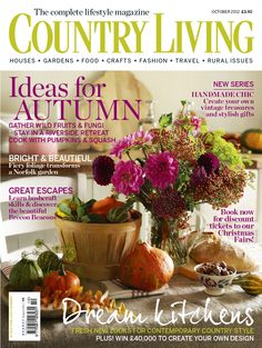 Country Living UK edition October 2012 cover www.countryliving.co.uk
