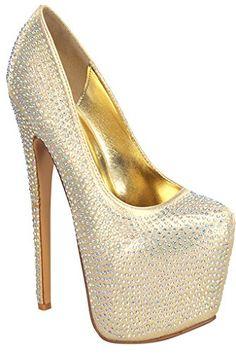 Foever Link HIGH HEEL PUMP PLATFORM RHINESTONE DESIGN Shoes gold 55 Lolli Couture http://www.amazon.com/dp/B00PZ8MSKM/ref=cm_sw_r_pi_dp_bjpMub0NE7ZVD