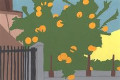 季節の植物。柑橘類の木。2018/3/21