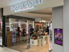 Another squareVIEW digital signage display for Yankee Candle. Content updated using our DSA cloud based solution.