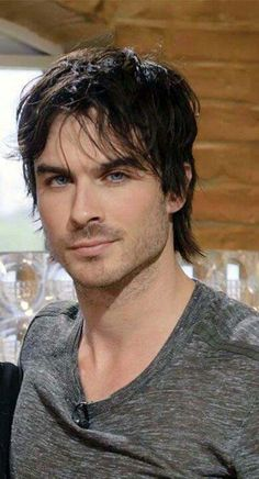 Ian Somerhalder - with green eyes, he would be my Roger :) of course he'd be taller