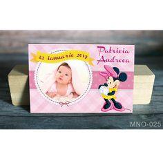 Magneti botez fete – Marturii Botez baietei si fetite Minnie Mouse, Cover, Decor, Decoration, Decorating, Deco