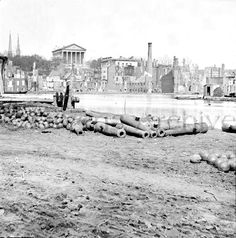 U S Civil War battlefields | the burned city and Capitol, Richmond - Battlefields - U.S. Civil War ...
