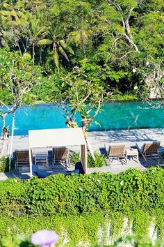 A new statement on the Ubud scene. Bold and modern aesthetically but peaceful and calm atmospherically.