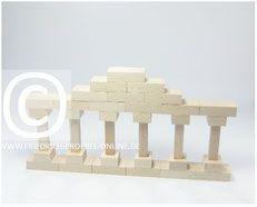 SPIELGABE 6 Säulenreihe nach Marenholtz-Bülow