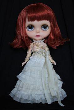 G Baby OOAK Custom Blythe Doll 85 Inspired by Florence and The Machine | eBay