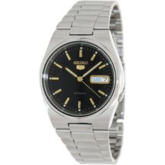 Seiko Men's 5 Automatic SNXL45K Silver Stainless-Steel Automatic Watch