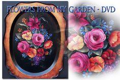 Art Apprentice Online - DVD - Flowers From My Garden - Acrylic - Susan Abdella MDA, $24.95 (http://store.artapprenticeonline.com/dvd-flowers-from-my-garden-acrylic-susan-abdella-mda/)