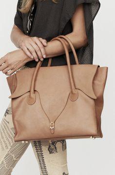 Nanushka Carmen Tulip Shaped Handbag. Love!
