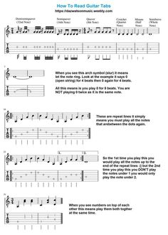 Over 200 Free Guitar Lessons Plus Scales, Modes, Chord Charts,  Bass Guitar & many more