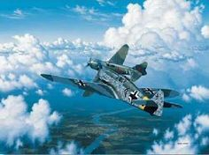 """""""A Costly Victory (ME-109 and Lagg-5)"""" by Stan Stokes"""