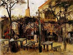 Vincent van Gogh: The Paintings (Terrace of a Cafe on Montmartre--La Guinguette)