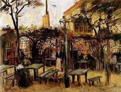 Vincent van Gogh: The Paintings (Terrace of a Cafe on Montmartre--La Guinguette)