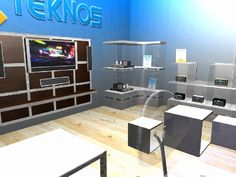 #stand #3d #design #designideas 3d Design, Corner Desk, 3 D, Table, Furniture, Home Decor, Corner Table, Decoration Home, Room Decor