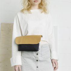 "Lookbook - genreDenis Handmade Convertible Waist Bag ""Fanny Pack"" / Shoulder Bag"