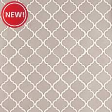 New! Heirloom Pewter Arabesque II Porcelain Tile Wood Tiles Design, White Porcelain Tile, Stone Look Tile, Parts Of Stairs, Outdoor Stone, Glass Tile Backsplash, Painting Concrete, House Tiles, Vinyl Tiles