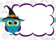 Free Printable Owl Invitation Templates   DREVIO Owl Invitations, Owl Templates, Free Printable Birthday Invitations, Birthday Template, Baby Shower Invitation Templates, Owl Labels, Kids Labels, Owl Clip Art, Class Decoration